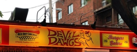 Devil Dawgs is one of Locations.