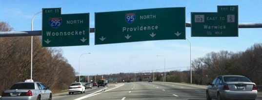 I-95 is one of just a list of places.