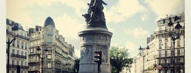 Place de Clichy is one of Déjà vu.
