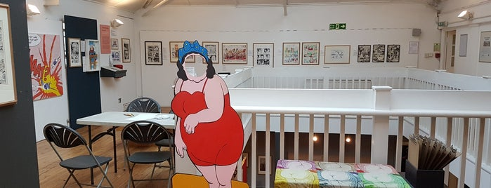 The Cartoon Museum is one of London, UK (attractions).