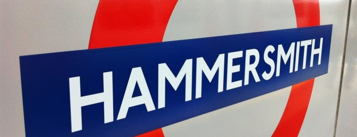 Hammersmith is one of London.