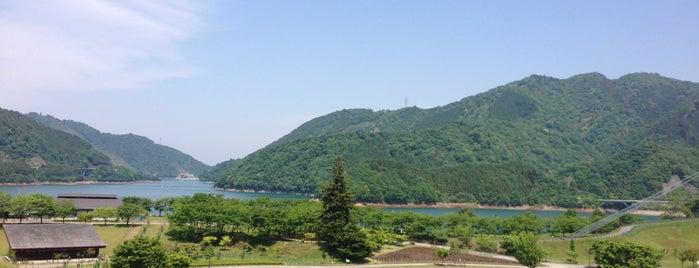 宮ヶ瀬湖畔園地 is one of 海老名・綾瀬・座間・厚木.