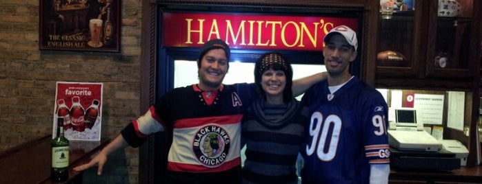 Hamilton's Bar & Grill is one of Chicago.