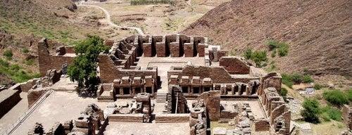 Takht-i-Bahi is one of UNESCO World Heritage Sites (Asia).