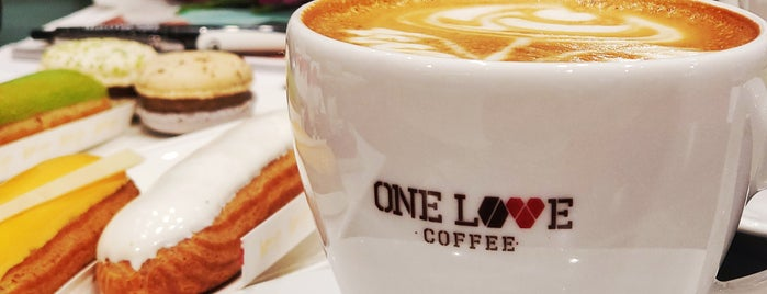 ONE LOVE coffee is one of Kyiv gastro.