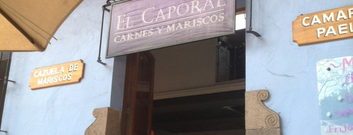 El Caporal Carnes y Mariscos is one of Veracruz.