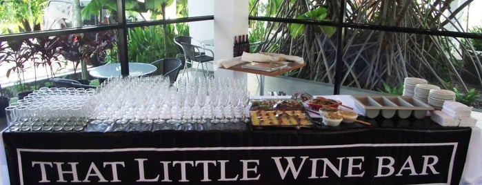 That Little Wine Bar is one of Best Wine Drinking Places in Penang.