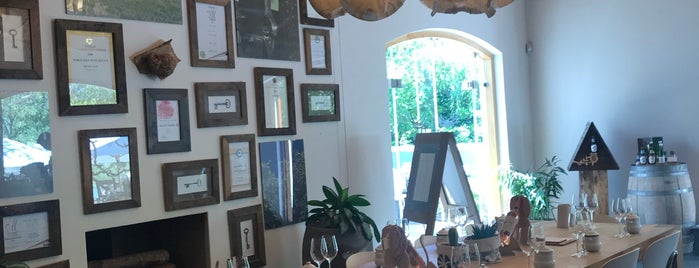 Noble Hill wine estate is one of To visit: Food.