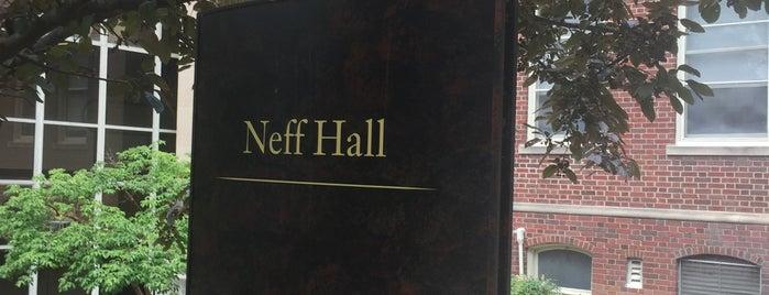 Neff Hall is one of MU History Tour.