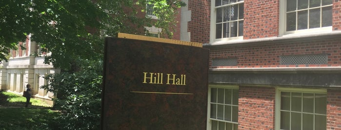 Hill Hall is one of MU History Tour.