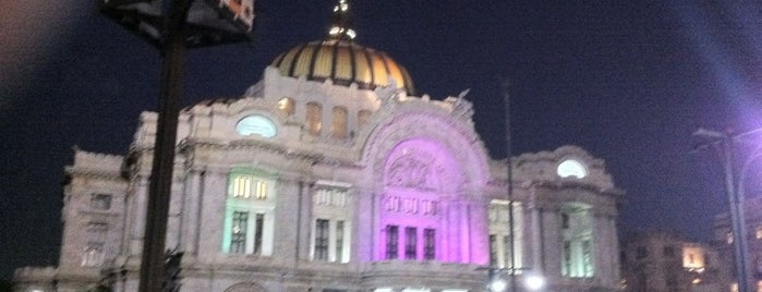 Palacio de Bellas Artes is one of All-time favorites in Mexico.