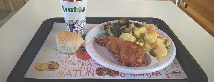 Frutos Espacio M is one of Gastronomía en Santiago de Chile.