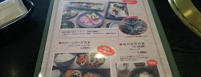 炭火焼肉 家族亭 is one of 電源 コンセント スポット.