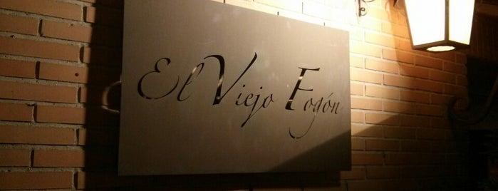 El Viejo Fogon is one of Restaurantes visitados.