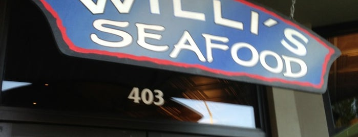 Willi's Seafood & Raw Bar is one of USA Napa.