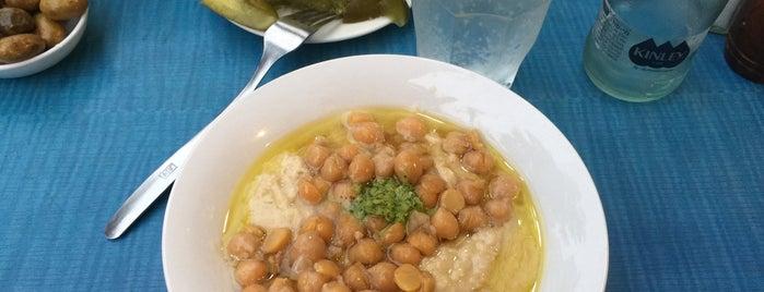 Hummus Mashawsha is one of TLVeg.