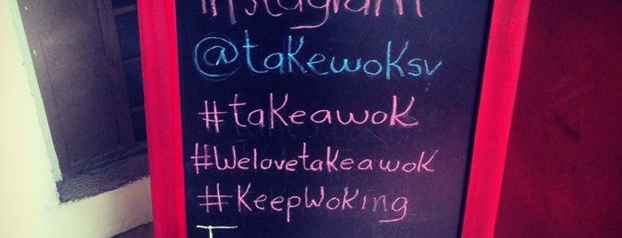 Take A Wok is one of Restaurantes asiaticos.