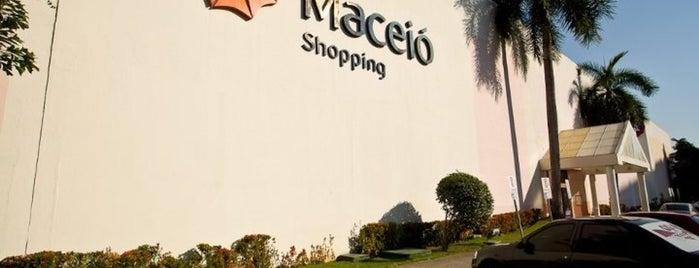 Maceió Shopping is one of Atendimento nota 10..