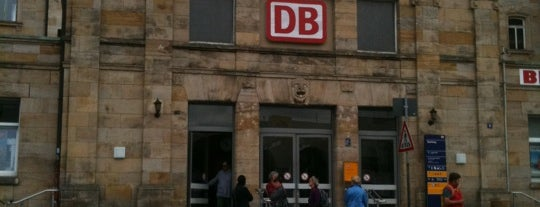 Bahnhof Bamberg is one of Ausgewählte Bahnhöfe.