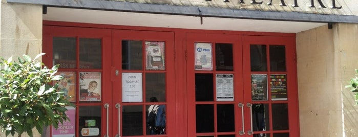 The Little Theatre Cinema is one of Bath.
