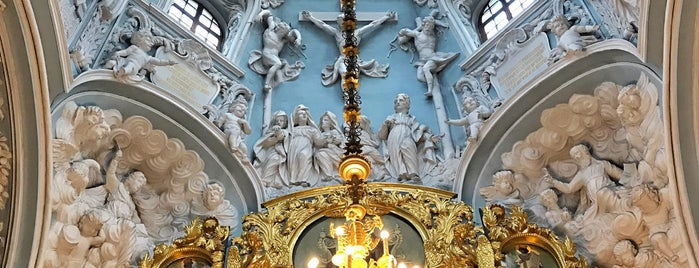 Церковь Знамения В Дубровицах is one of У дачи.