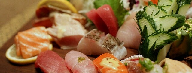 Blue Ribbon Sushi is one of 60 Thompson's Neighborhood Favorites.