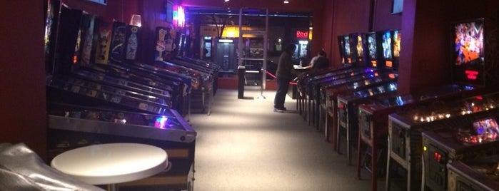 Modern Pinball NYC is one of Dan's New York.