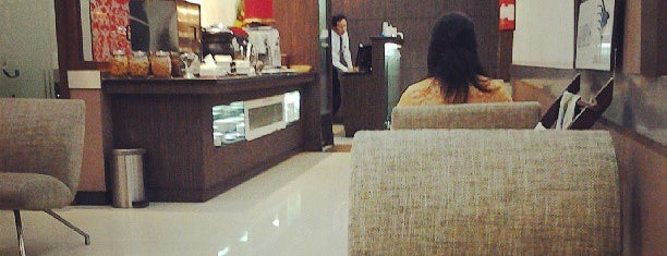 Garuda Indonesia Executive Lounge is one of Cafe or Coffee Shop.