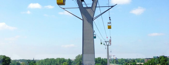 Kölner Seilbahn is one of Favorite's places at Cologne.