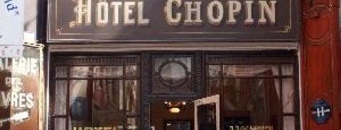 Hôtel Chopin is one of Urlaubskandidaten.