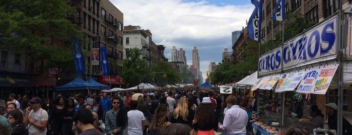 Ninth Avenue International Food Festival is one of NYC on my way.