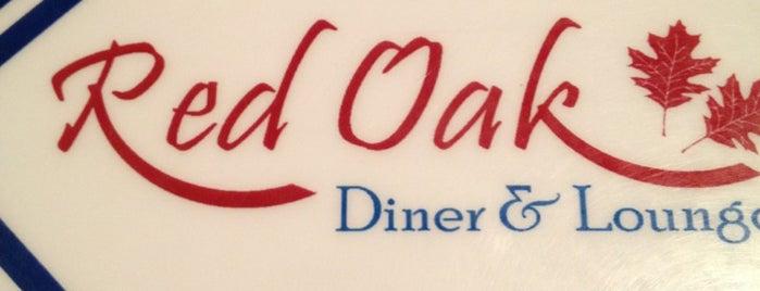Red Oak Diner & Lounge is one of NJ.