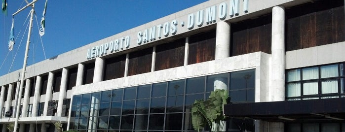 Rio de Janeiro Santos Dumont Airport (SDU) is one of Airports.