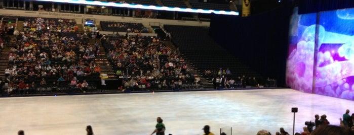 Bridgestone Arena is one of NHL arenas.
