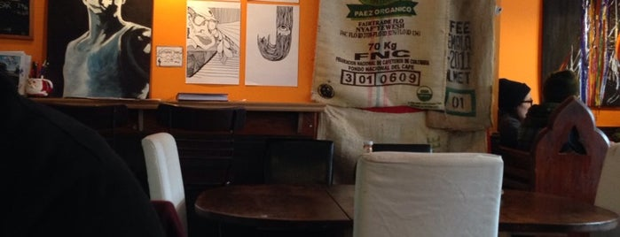The Daily Grind Art Cafe is one of No town like O-Town: Indie Coffee Shops.