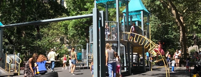 Madison Square Playground is one of Best Spots for Kids - NYC.