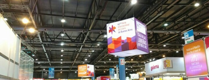 Buenos Aires International Book Fair is one of Asiduos.