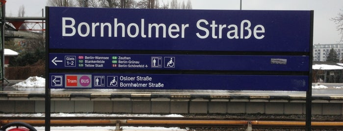S Bornholmer Straße is one of Sbahn berlin.