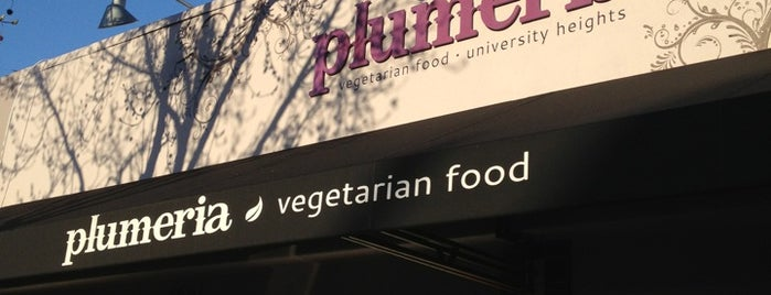 Plumeria is one of San Diego Vegan Options.