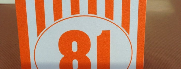 Whataburger is one of Single joints of Ft worth.