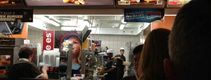 McDonald's is one of (Germany) Dusseldorf.