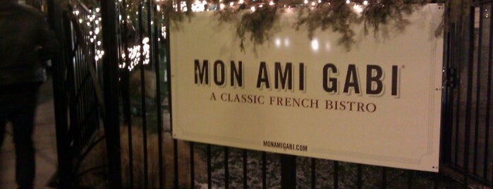Mon Ami Gabi is one of The 15 Best Places That Are Good for Dates in Chicago.