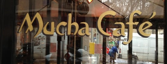 Mucha Café is one of Quartier Latin.