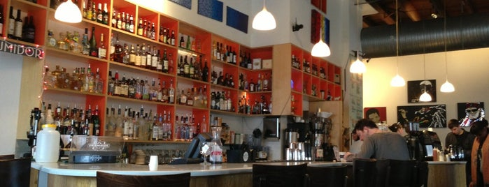 Halcyon Coffee, Bar & Lounge is one of Martini.