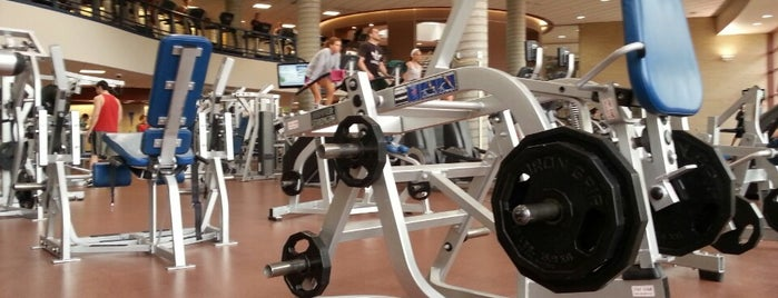 Ambler Student Recreation Fitness Center is one of Athletics.