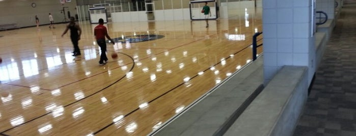 Robinson Health and Physical Education Center is one of Athletics.