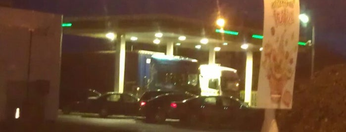 BP is one of Truckstops And Other Places To Park Overnight.