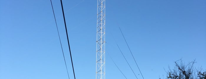 Moonlight Tower (South 1st & Monroe) is one of Austin's Moonlight Towers.