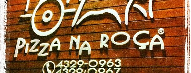 Pizza na Roça is one of Incríveis restaurantes até 70 reais.