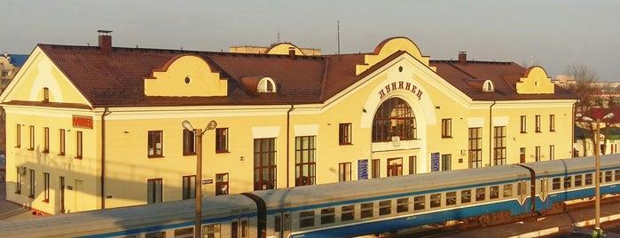 Лунинец is one of Города Беларуси.